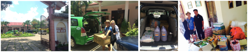 Mai Hoa Centre Care Package Delivery Aug 2015