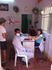 Ms Vinh and her patients