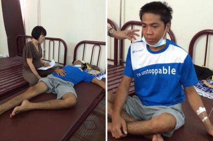 Dao Van No is critically ill